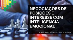 Negociações de posições e interesse com inteligência emocional