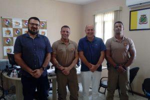 Polícia Militar de Gaspar apresenta projetos à ACIG.