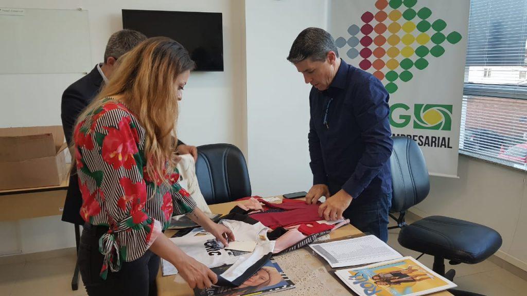 Núcleo Têxtil da ACIG recepciona rede de lojas Francesa em Gaspar