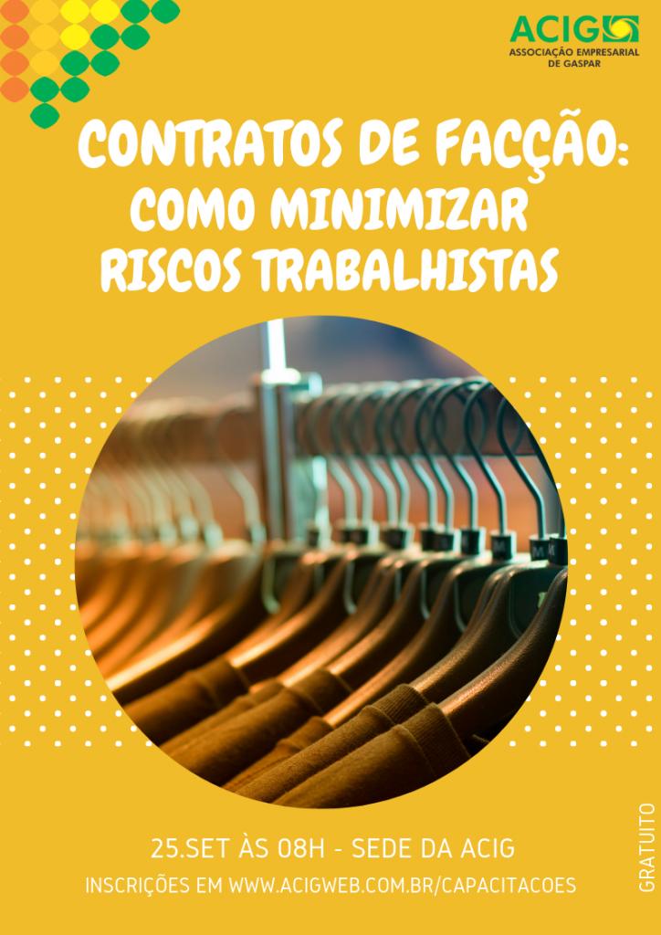 Contratos de facção: Como minimizar riscos trabalhistas