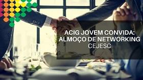 ALMOÇO DE NETWORKING
