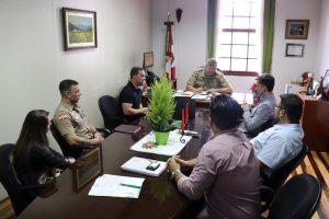 Pleito de lideranças locais garante reforço do efetivo da Polícia Militar de Gaspar