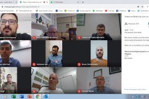 Associados da ACIG participam de encontro virtual com prefeito e PM
