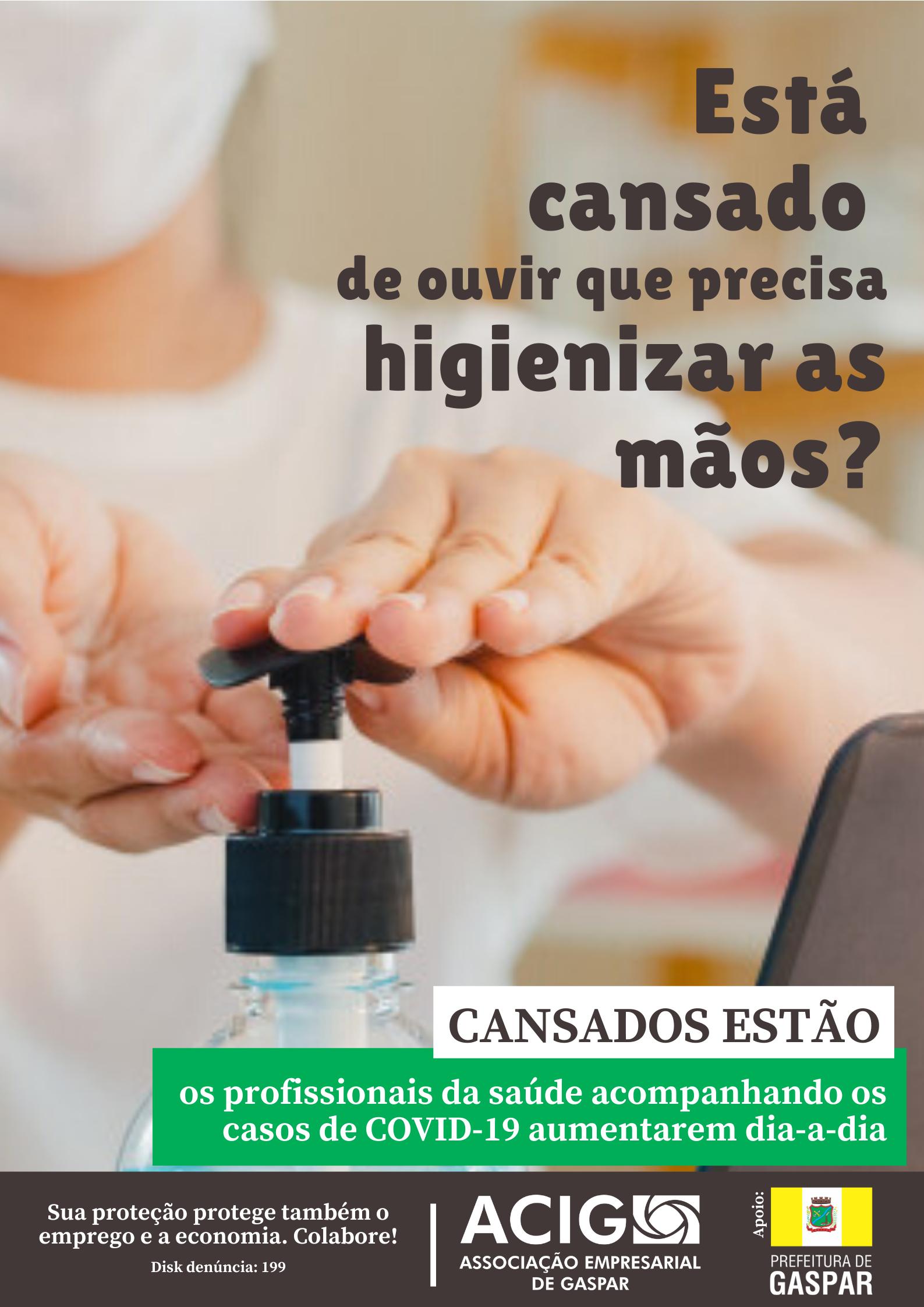 ACIG lança campanha de conscientização frente ao COVID-19