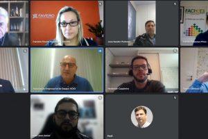 Associação Empresarial de Gaspar é anfitriã em encontro da Facisc