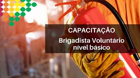 Capacitação em Brigadista Voluntário de nível básico